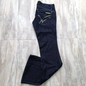 "William Rast ""Savoy"" Trouser Wide-Leg Jeans 26"